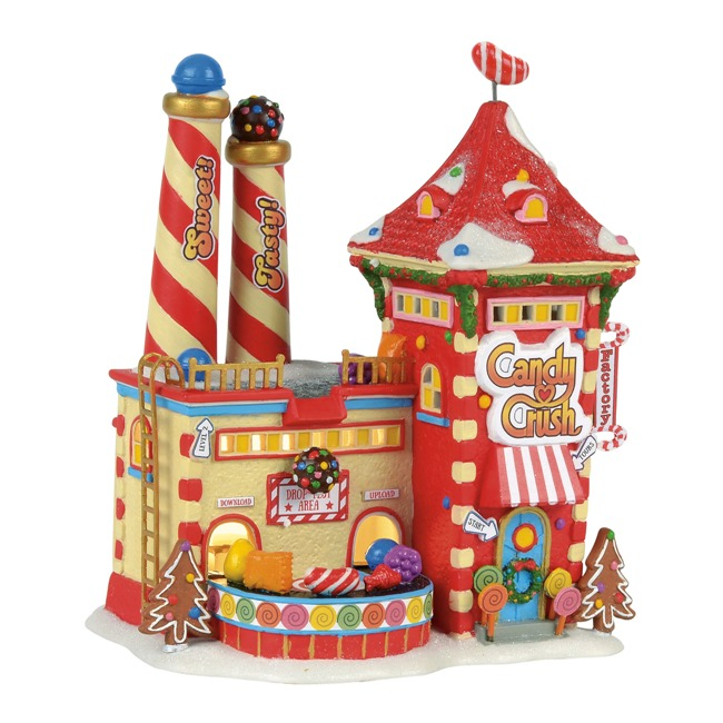 "Department 56 North Pole Village - ""North Pole Candy Crush Factory"""