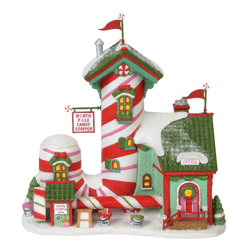"Department 56 North Pole Village - ""North Pole Candy Striper"" 2018"