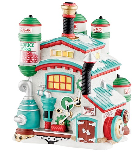 "Department 56 North Pole Village - ""North Pole Licorice Works"""