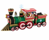 "Department 56 North Pole Village - ""Northern Lights Express Engine"""