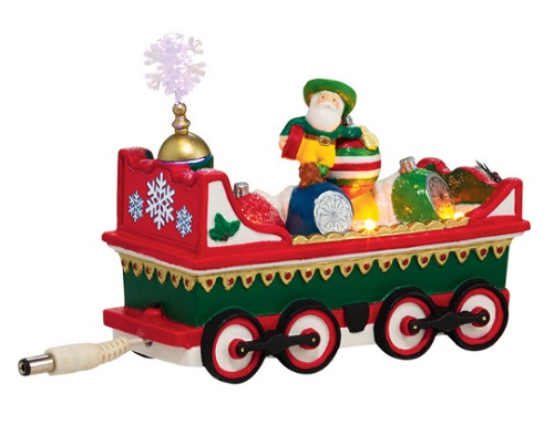 "Department 56 North Pole Village - ""Northern Lights Ornament Car"""
