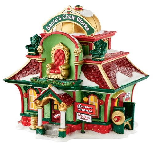 Department 56 North Pole Village - Santas Chair Works