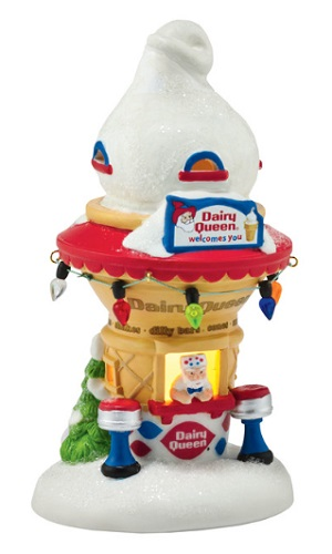 "Department 56 North Pole Village - ""Santa's DQ Cone House"""