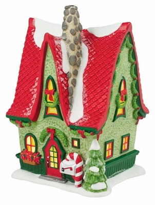 """Department 56 North Pole Village - """"Sven's Swell House"""""""