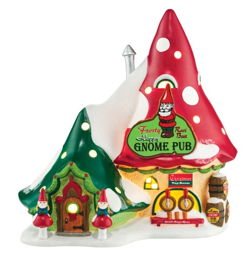 "Department 56 North Pole Village - ""The Happy Gnome Pub"""