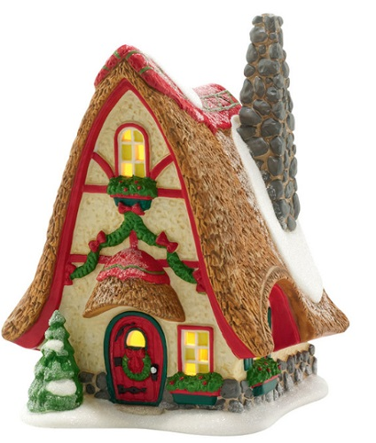 "Department 56 North Pole Village - ""Tinker's Tiny Home"""