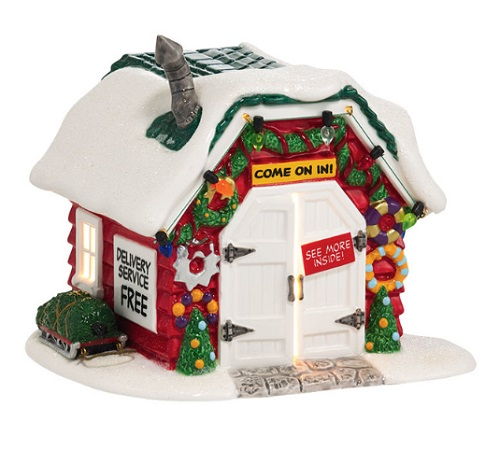 "Department 56 Peanuts Village - ""Holiday Tree Lot"""