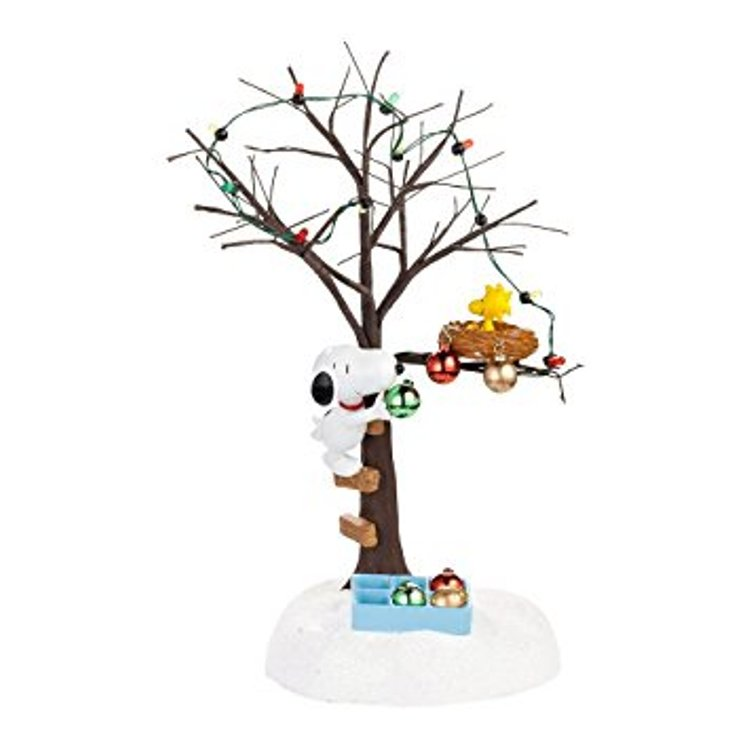 "Department 56 Peanuts Village - ""Sharing Christmas Spirit"""