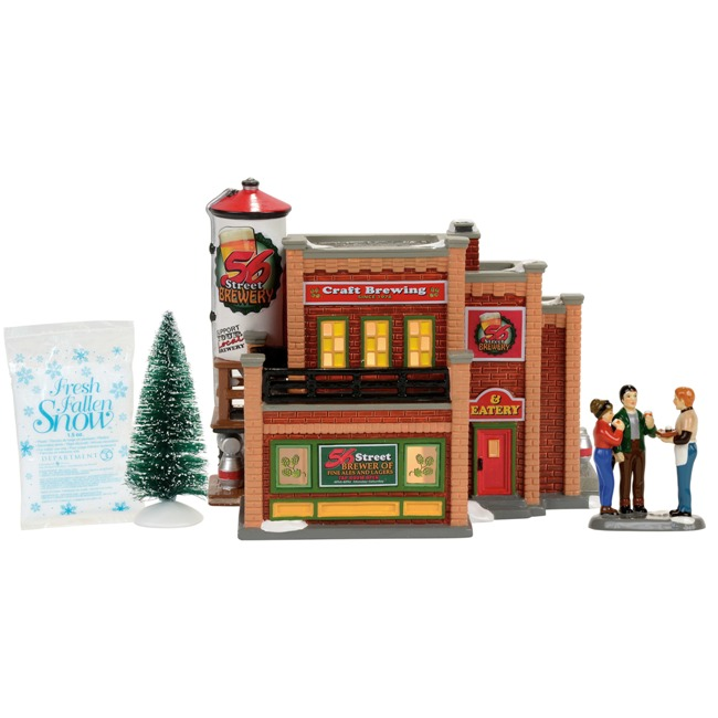 dept 56 original snow village christmas village set. Black Bedroom Furniture Sets. Home Design Ideas
