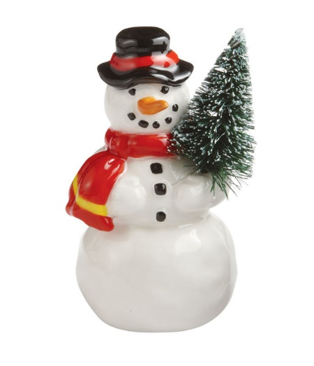"Department 56 Snow Village Accessory  - ""A Jolly Happy Soul"""