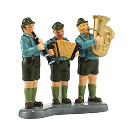 "Department 56 Snow Village Accessory - ""Black Forest Oompah Band"""