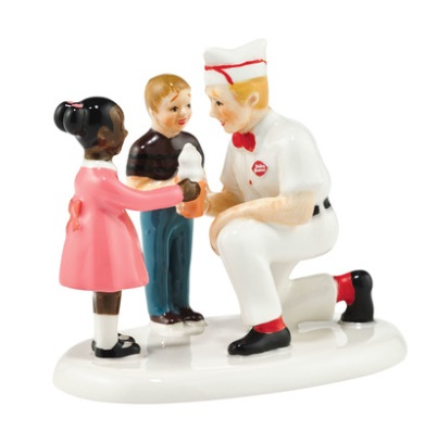 """Department 56 Snow Village Accessory - """"DQ Treats For You"""""""