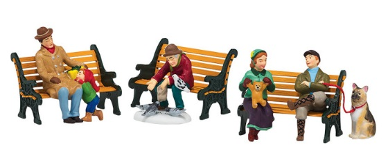 "Department 56 Snow Village Accessory - ""Holiday In The Park"""