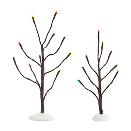"Department 56 Snow Village Accessory - ""Multi Color Lights Bare Branch"""