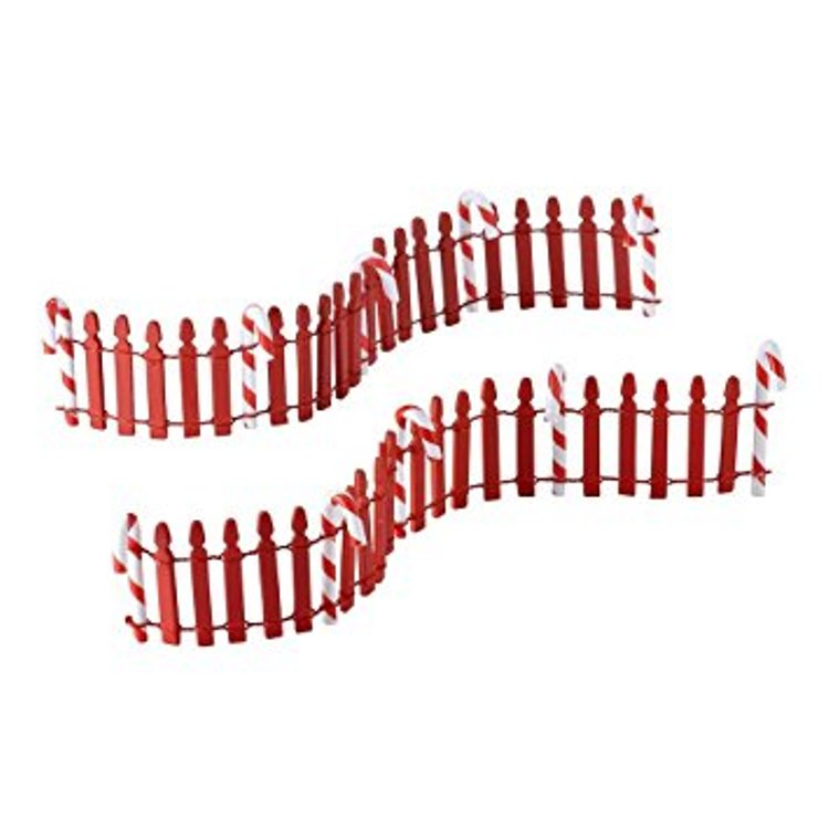 Department 56 Village Accessory - Peppermint Fence