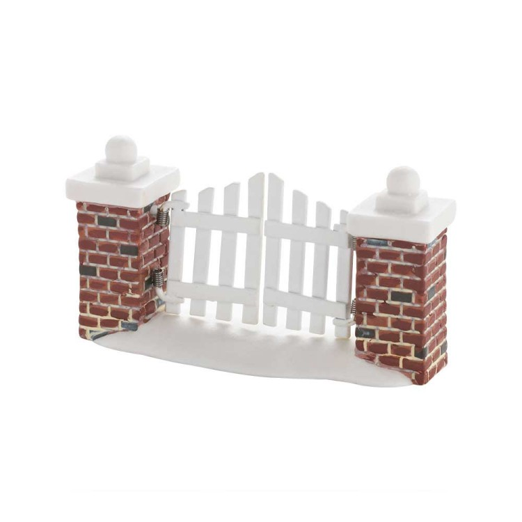 "Department 56 Village Accessory - ""Picket Lane Gate"""