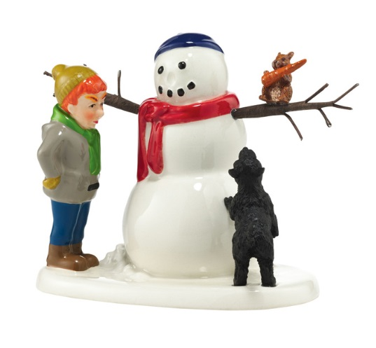 """Department 56 Snow Village Accessory - """"Return Nose & No One Gets Hurt"""""""