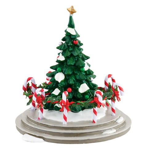 "Department 56 Snow Village Accessory - ""Snow Village Town Tree"""