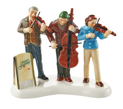 "Department 56 Snow Village Accessory - ""String Trio"""