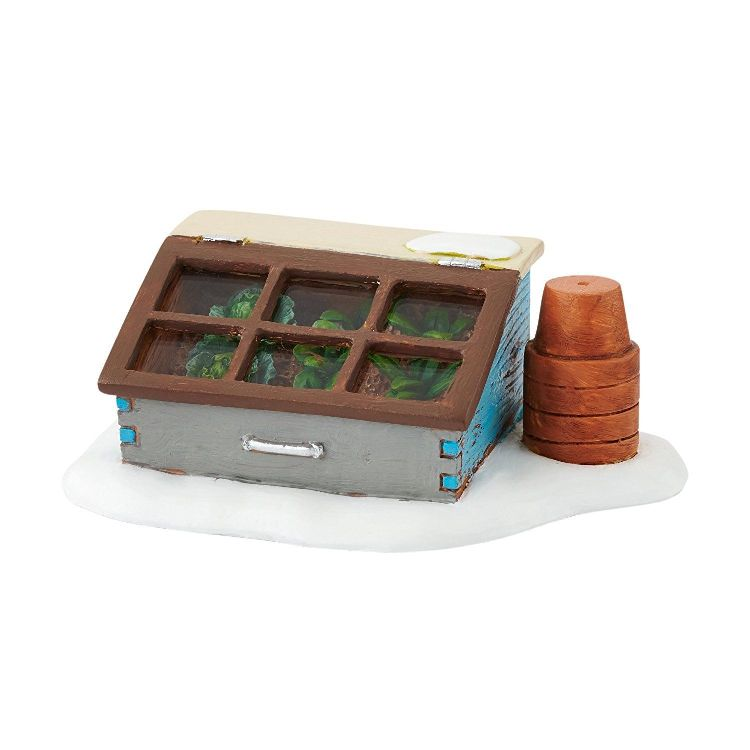 "Department 56 Village Accessory - ""Woodland Cold Frame"""