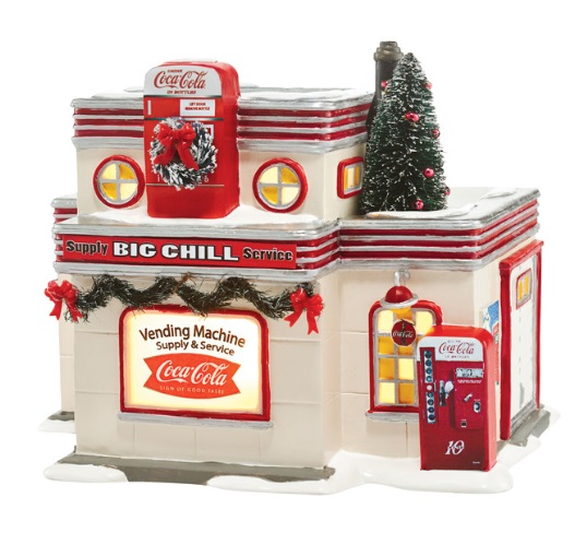 "Department 56 Snow Village - ""Big Chill Supply and Service"""