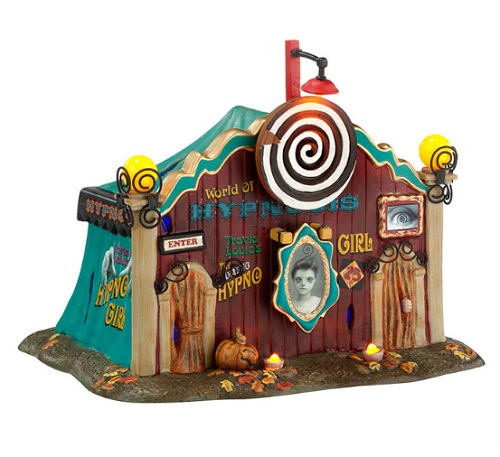 "Department 56 Halloween - ""Dolly's World Of Hypnosis"""