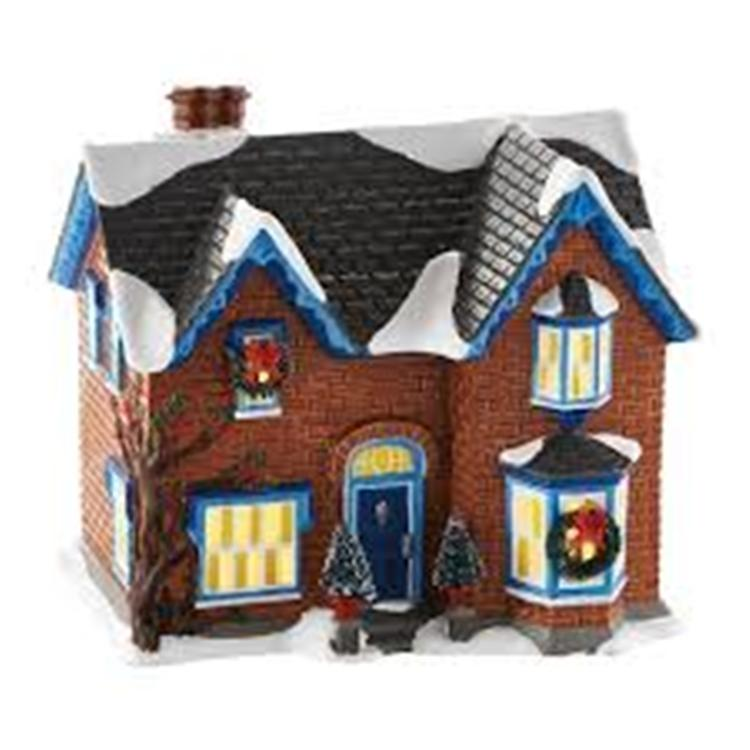 "Department 56 Snow Village - ""Gothic Revival Farmhouse"""