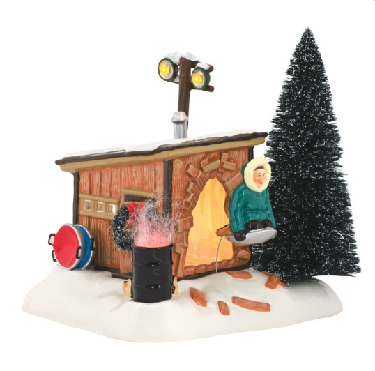 Department 56 Snow Village Christmas Vacation - Griswold Sled Shack