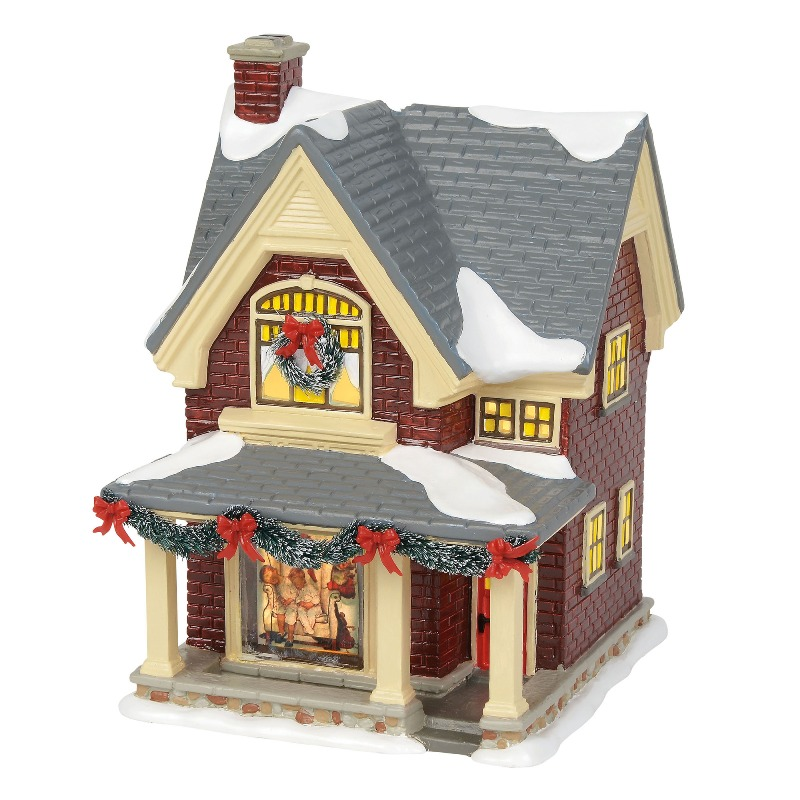 """Department 56 Snow Village - """"Rockwell's Christmas Eve"""" 2018"""