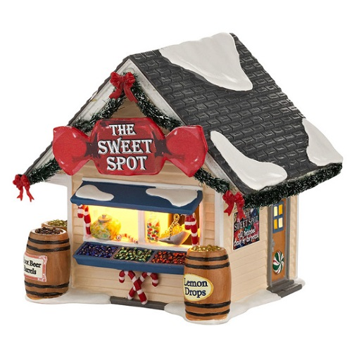 "Department 56 Snow Village - ""The Sweet Spot"""