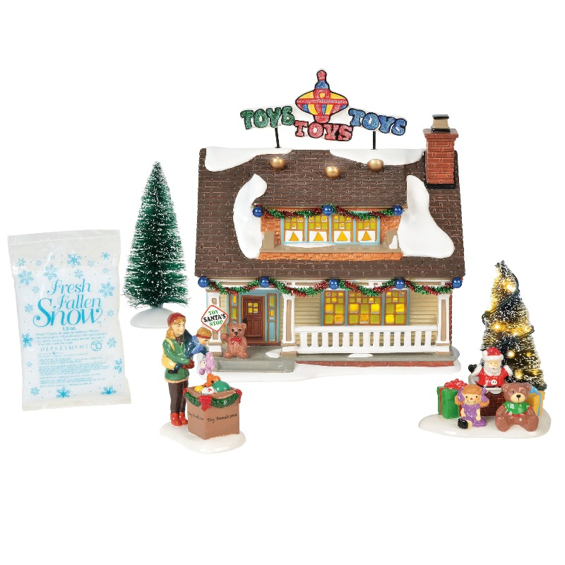 """Department 56 Snow Village - """"The Toy House"""" 2018"""