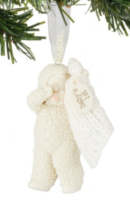 "Department 56 - Snowbabies - Celebrations - ""Baby's 1st Ornament"""