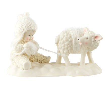 "Department 56 - Snowbabies - ""I'd Do Anything For Ewe"""