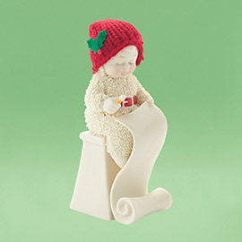 "Department 56 - Snowbabies - ""Making The List"""