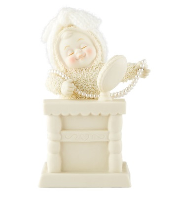 Department 56 Snowbabies - Mirror, Mirror