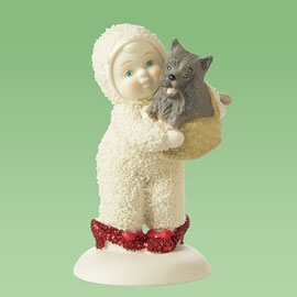 "Department 56 Snowbabies - ""No Place Like Home Toto"""