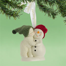 "Department 56 Snowbabies Ornament - ""Hug Me"""