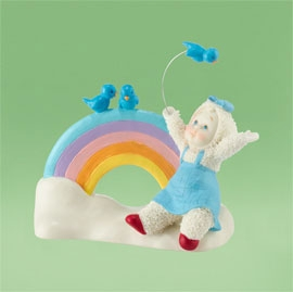 "Department 56 Snowbabies - ""Over The Rainbow"" - NEW"