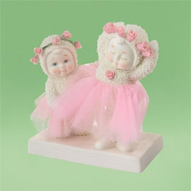 "Department 56 Snowbabies - ""Tutu Cute"""