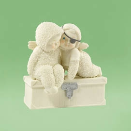 "Department 56 Snowbabies  - ""You're My Best Mate""  - Retired 2012"
