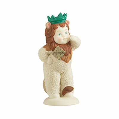 """Department 56 SnowBabies - """"Snowbaby As Cowardly Lion"""""""