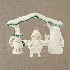 "Department 56 - SnowDream - ""A Child Is Born Nativity"""