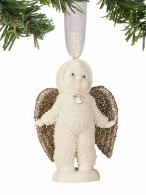 "Department 56 - SnowDream - ""An Angel To Guide Us Ornament"""
