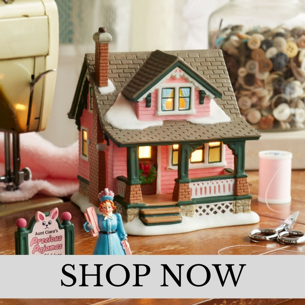 department 56 a christmas story village christmas village set