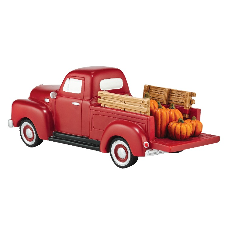 "Department 56 Village Accessory - ""Harvest Fields Pick Up Truck"""