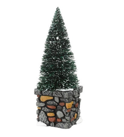 Department 56 Village Accessory - Limestone Topiaries