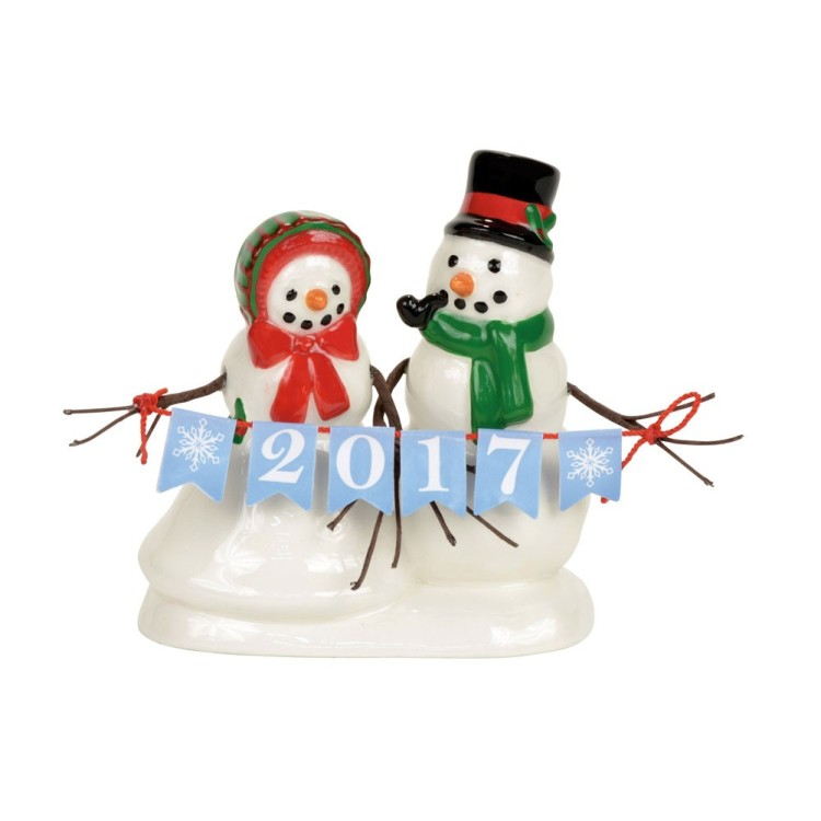 "Department 56 Village Accessory - ""Lucky The Snowman"""