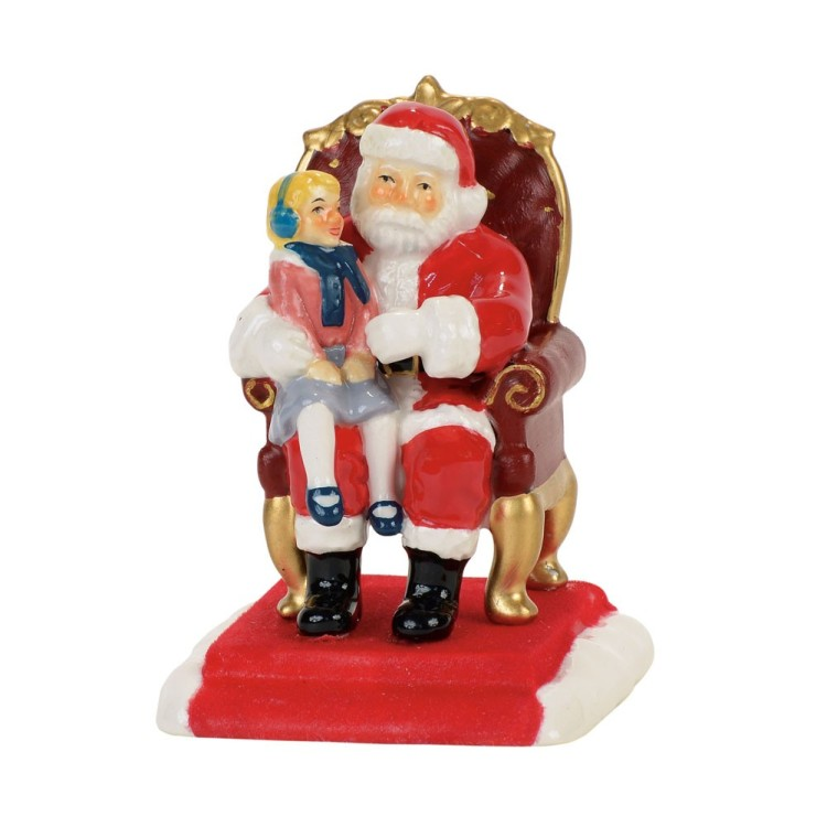 "Department 56 Village Accessory - ""Pictures With Santa"""