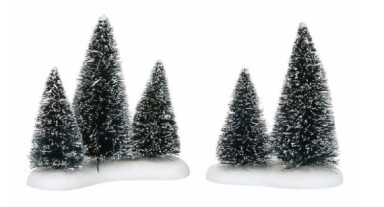"Department 56 Village Accessory - ""Sisal Tree Groves"""