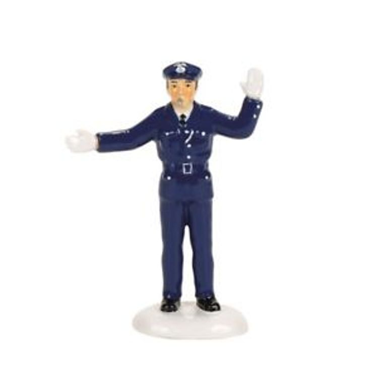 "Department 56 Village Accessory - ""Traffic Cop"""
